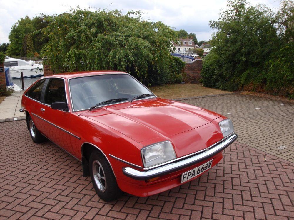 Vauxhall Cavalier Sports Hatch Gls 2000 1979 Manual Petrol