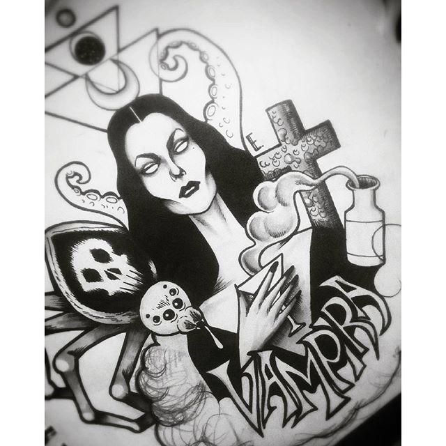 Vampira Tattoo Vampira Tattoo ...