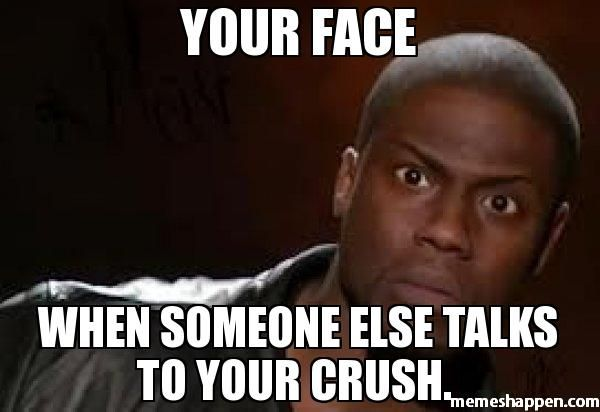 Funny Memes For Your Crush : When your crush looks at you meme google search true pinterest