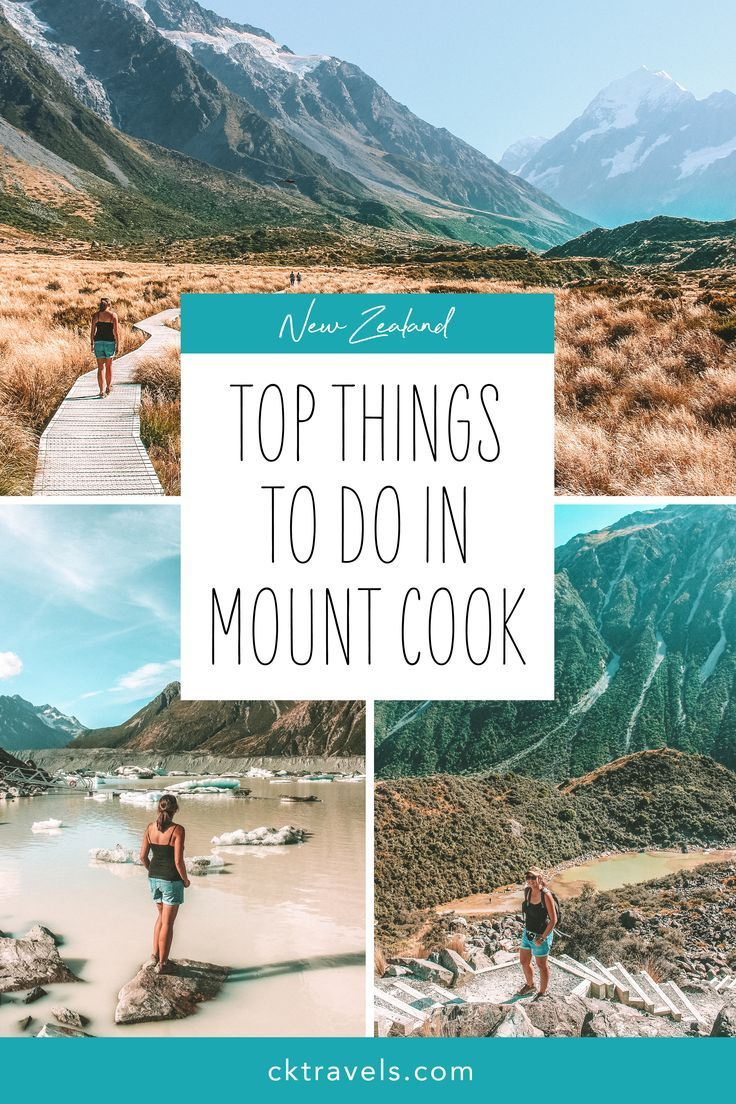 Things to do in Mount Cook, New Zealand  #mount #cook #mt #national #park #nz #newzealand #lakes #mountains #south #island #walks #travel #guide #best #top #glacier #photo #spots #pretty #scenic #hikes #day #trip