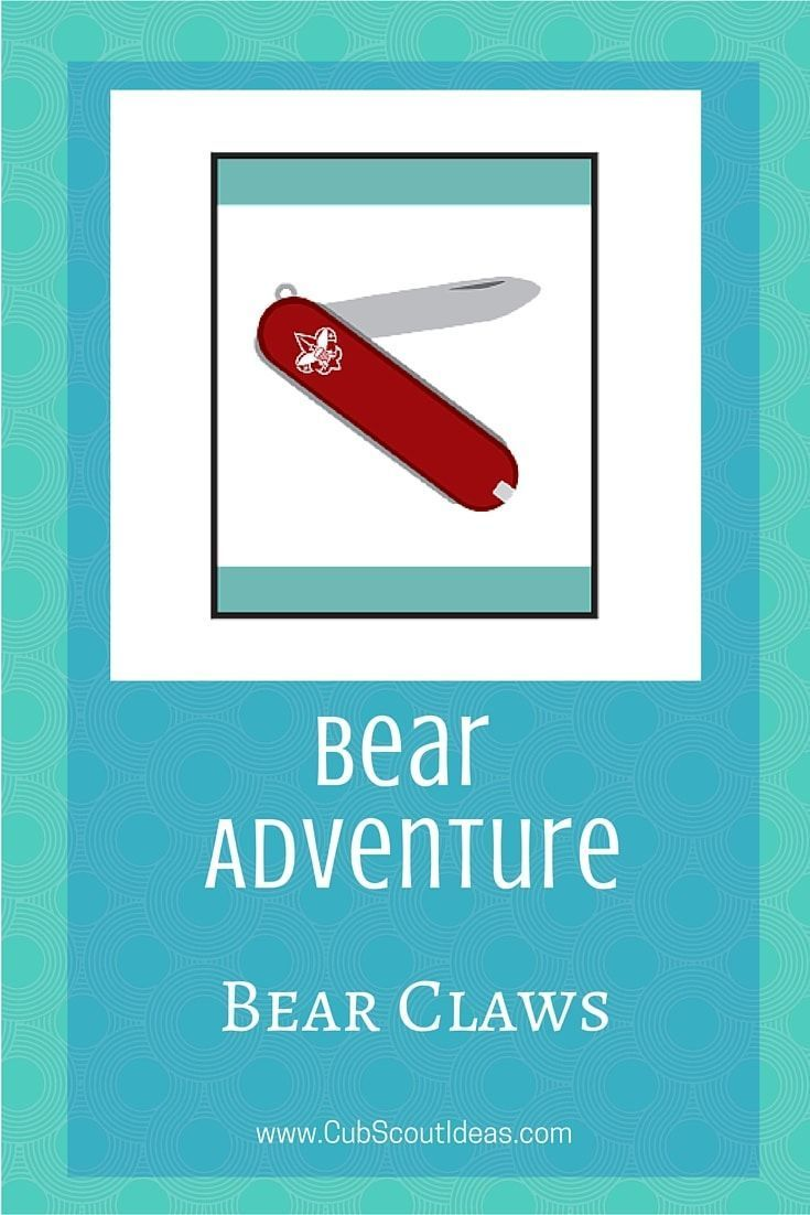 Cub Scout Bear Rank Requirements #cubscouts