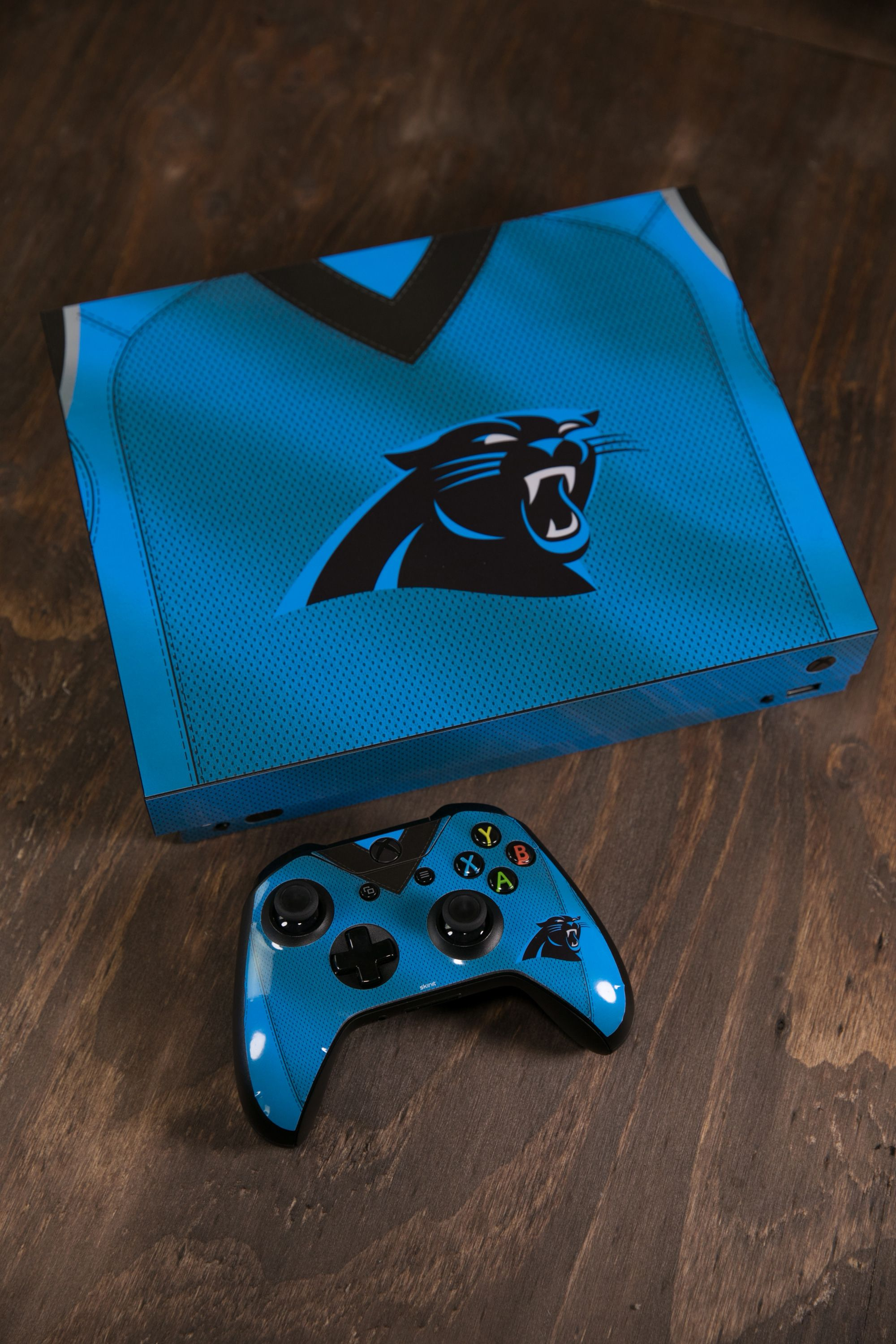 Nfl Jersey Collection Panthers Xbox One X Skins By Skinit Explore Nfl Jersey Designs A Collaboration With Nfl X Skin Xbox One Panthers Nfl Carolina Panthers