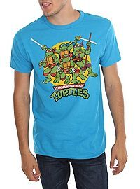 5a4e733bbb8 HOTTOPIC.COM - Teenage Mutant Ninja Turtles Circle Logo T-Shirt