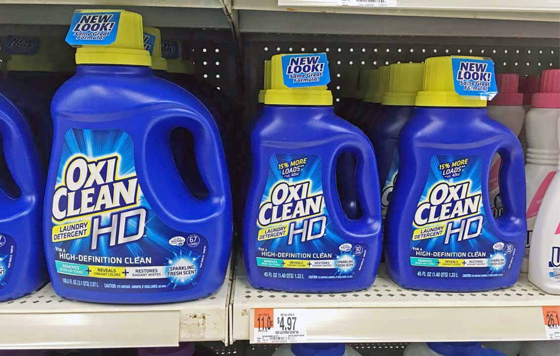 Oxiclean Laundry Detergent Only 0 99 At Walmart Starts 8 28