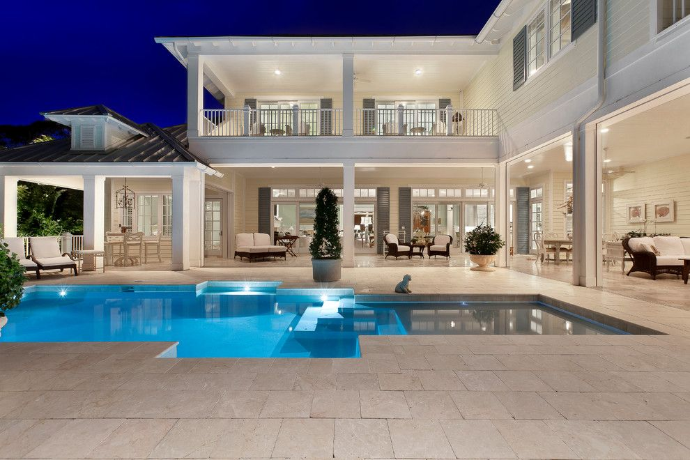 West Ins House Design - tropical - exterior - miami - Weber ... Evoking Icf House Plans Old World on