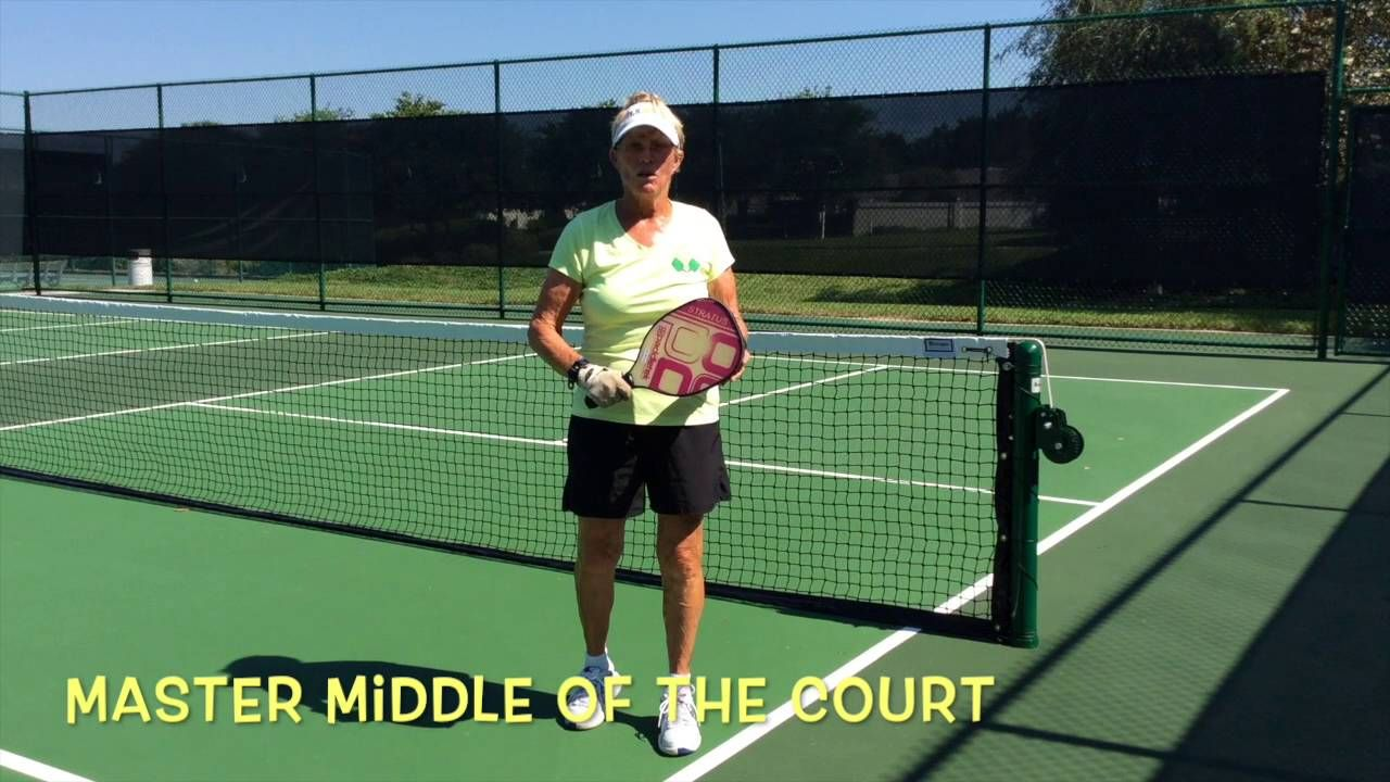 """Pickleball """"Get your paddle on it, Get it back"""", Deb"""