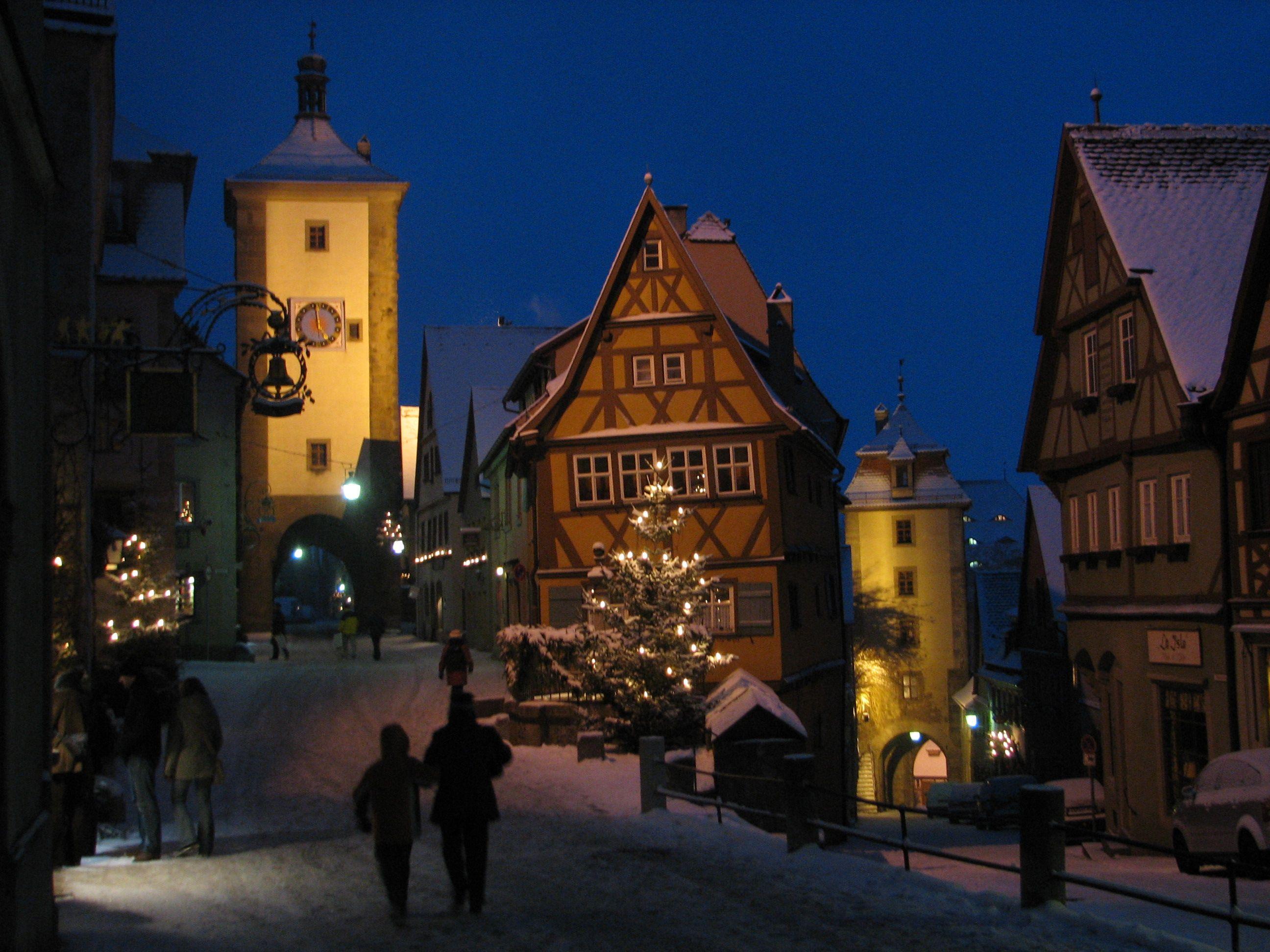 Rothenburg Winter