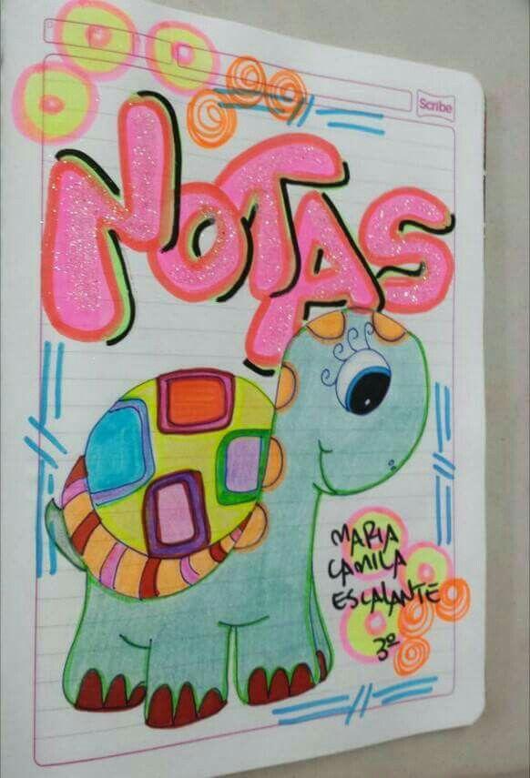 Caratulas Cuadernos Marcados Marcas de cuadernos