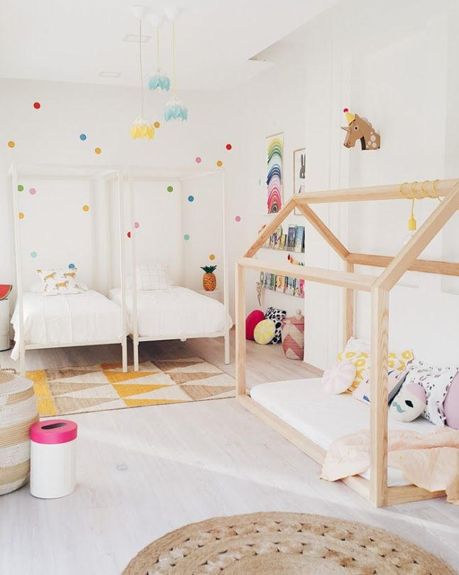 9 shared kids room inspirations kid s places shared bedrooms rh pinterest com