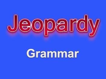 Middle School Grammar Jeopardy Powerpoint Game  Middle School
