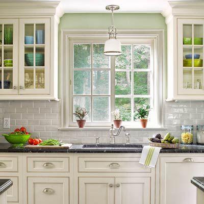 A Diyer S Delight In A Colonial Revival Remodel Trendy Kitchen Backsplash Kitchen Remodel Kitchen Redo