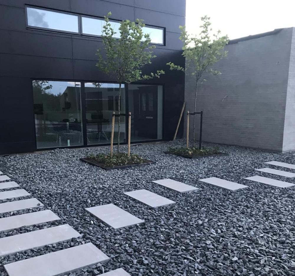 Gravel Landscape Design Ideas Backyard Landscaping Designs Roof