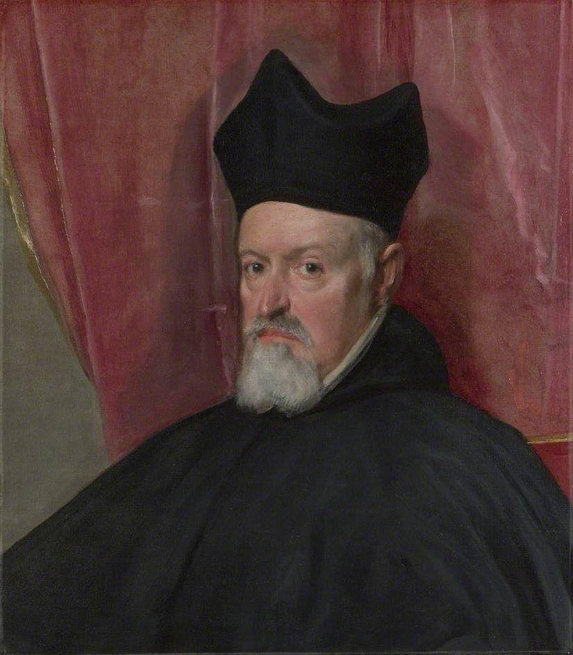 Portrait Of Archbishop Fernando De Vald Diego