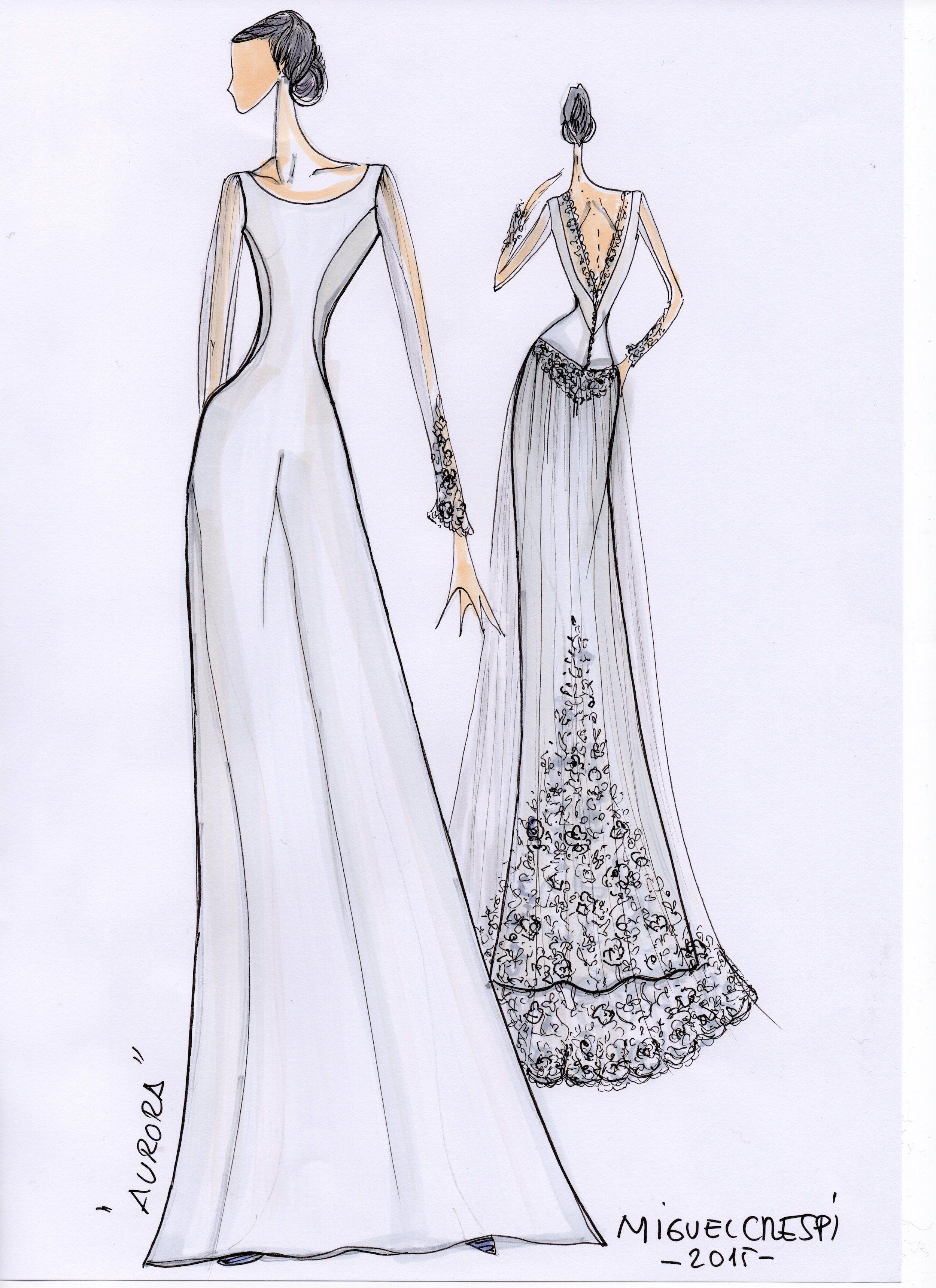 Miguel Crespi vestido de novia | casament | Pinterest | Vestidos de ...