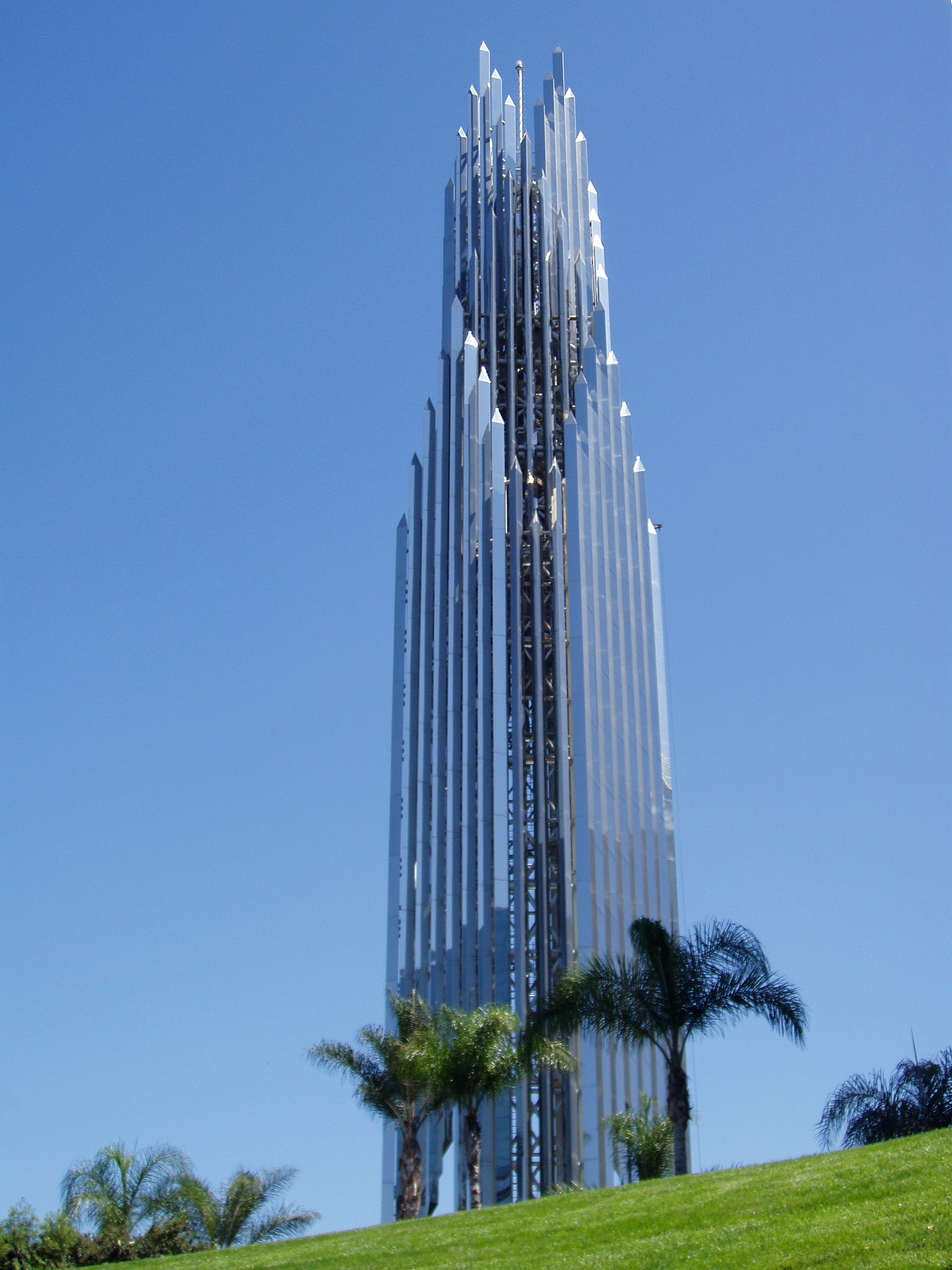 The Crystal Cathedral Is A Church Building In Garden Grove Orange