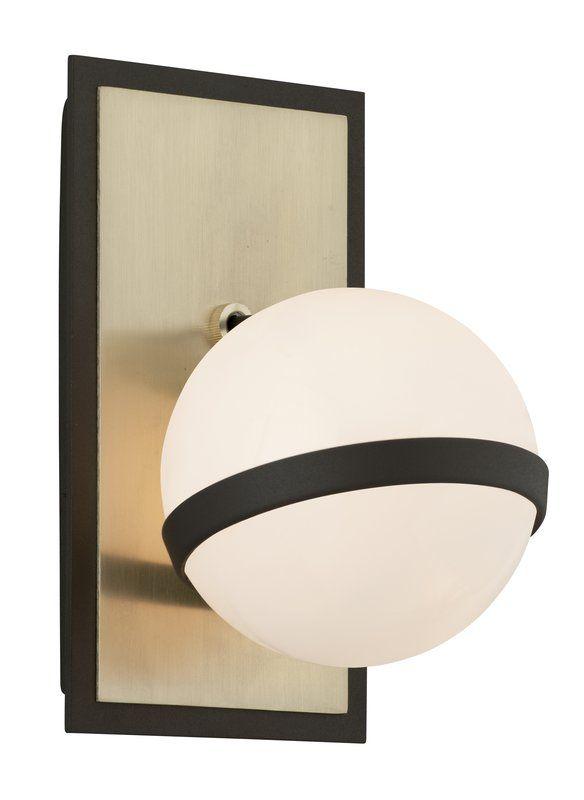 Photo of Olivera 1-light wall lamp