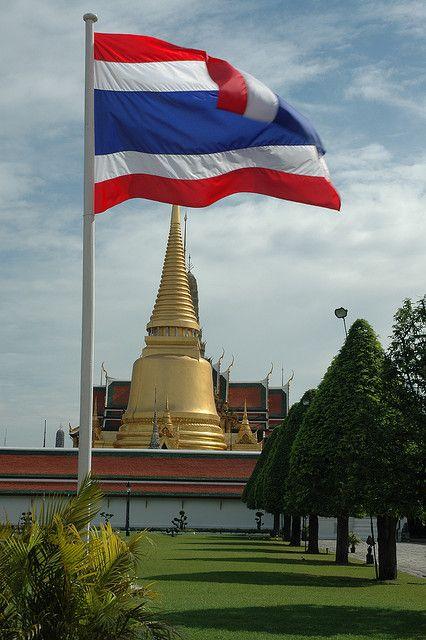Thai Flag Bangkok ส งคมศ กษา ส ส น