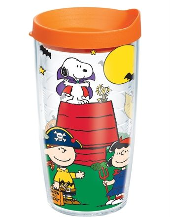 Peanuts Halloween Trick Or Treating Wrap With Lid