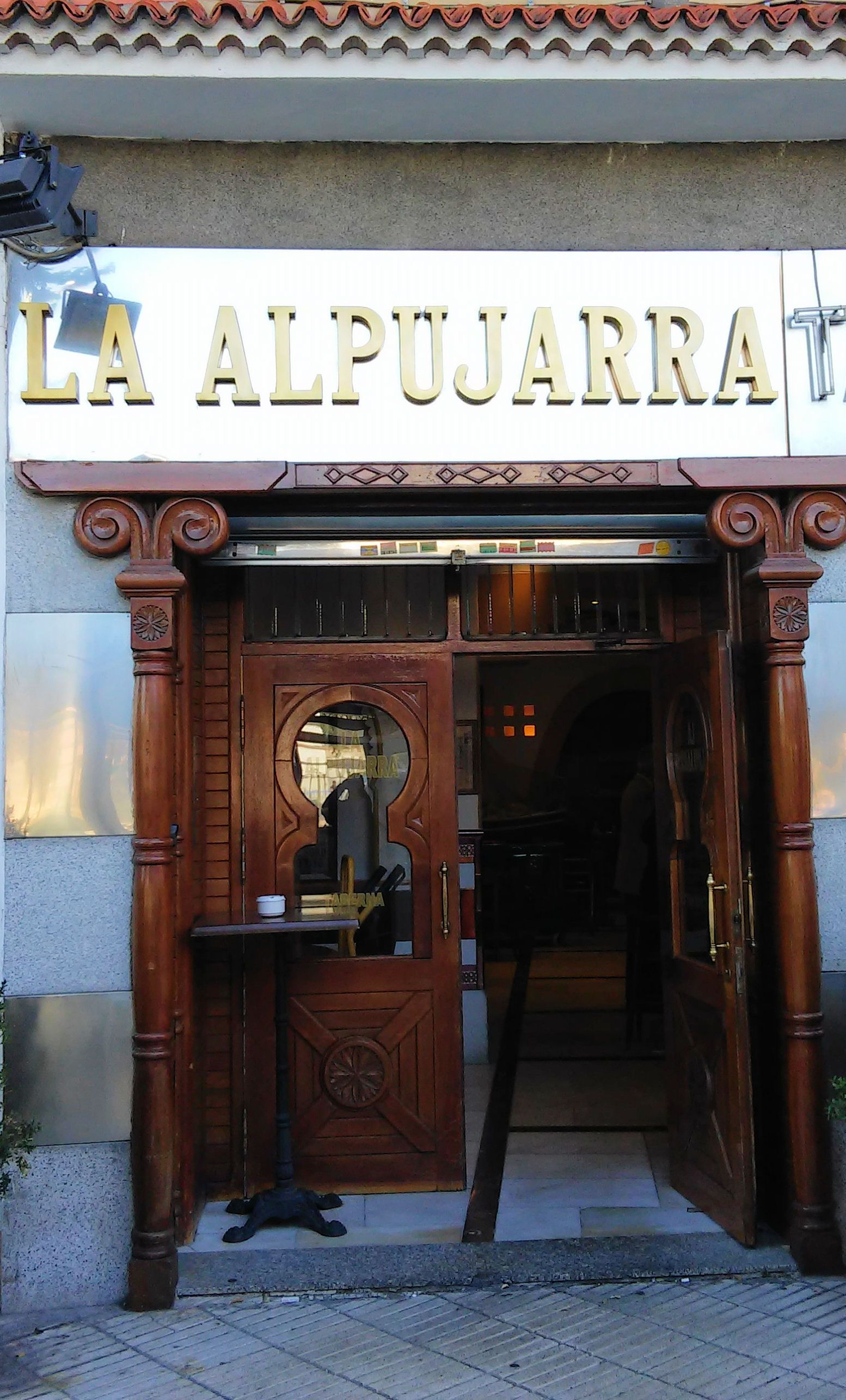 Restaurante La Alpujarra Plaza Del Perú Madrid Store Fronts Home Decor Madrid