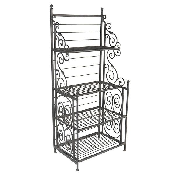 French Baker S Rack From Wisteria Bakers Rack Iron