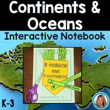 Continents and oceans activities interactive notebook student continents and oceans activities interactive notebook student learning ocean activities and social studies gumiabroncs Choice Image