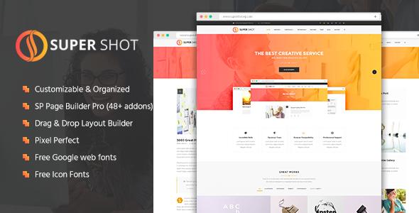 Download Free SuperShot Creative MultiPurpose Joomla