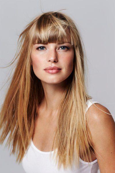 Lange Haare Im Trend Bezaubernde Frisuren Fur Die Mahne Lange Haare Coole Frisuren Haar Pony