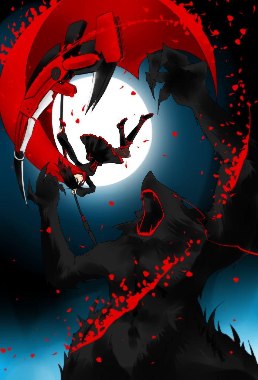 Pinterest rwby rwby rwby anime anime - Rwby ruby rose fanart ...