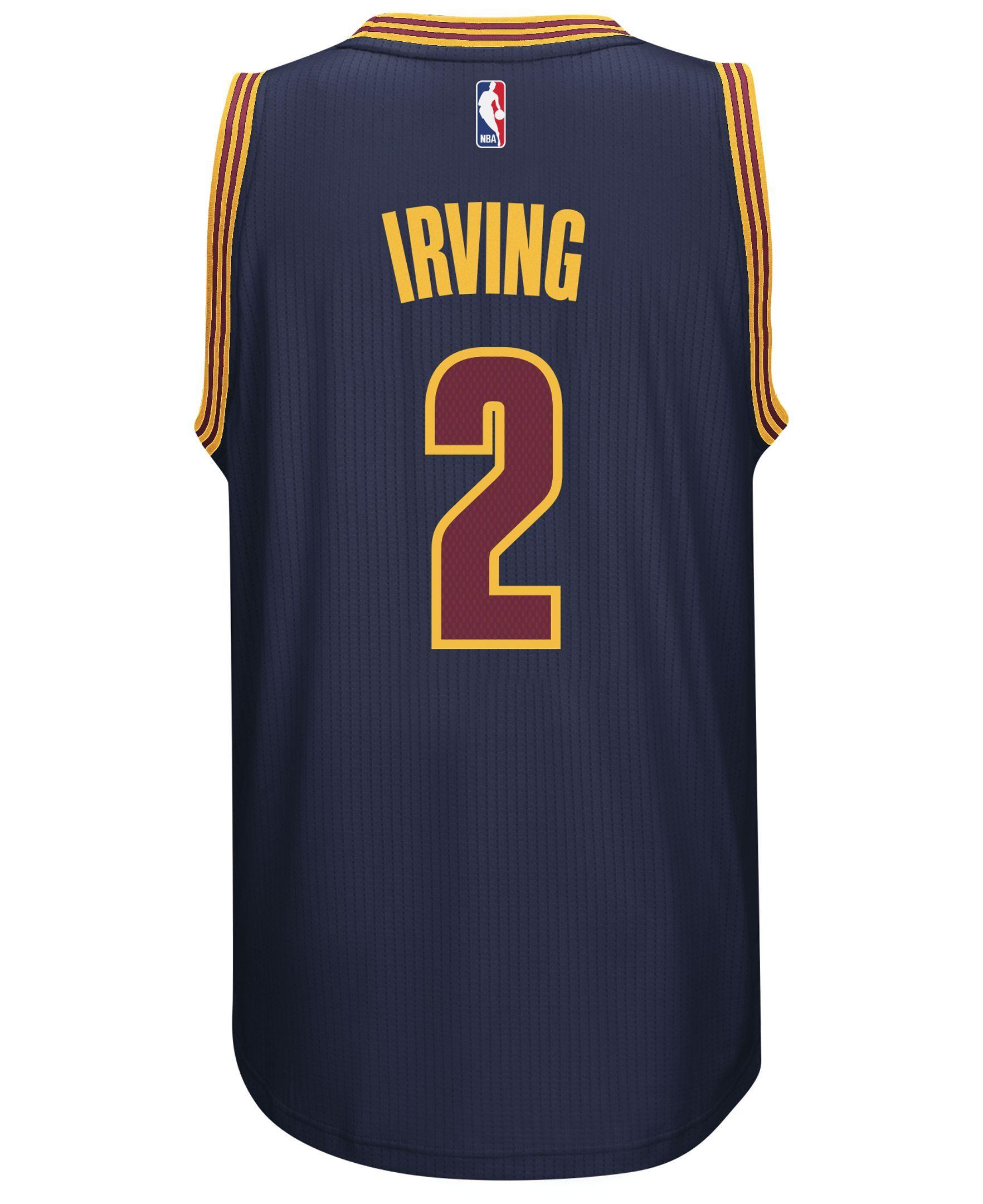 adidas Men s Kyrie Irving Cleveland Cavaliers Swingman Jersey  e503055eb