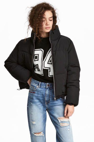 Veste matelassée - Noir - FEMME   H M FR 1   mode femme e7bc17c3c44