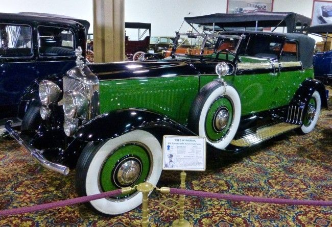 1928 Minerva AM Convertible Town Cabriolet (Nethercutt Collection)