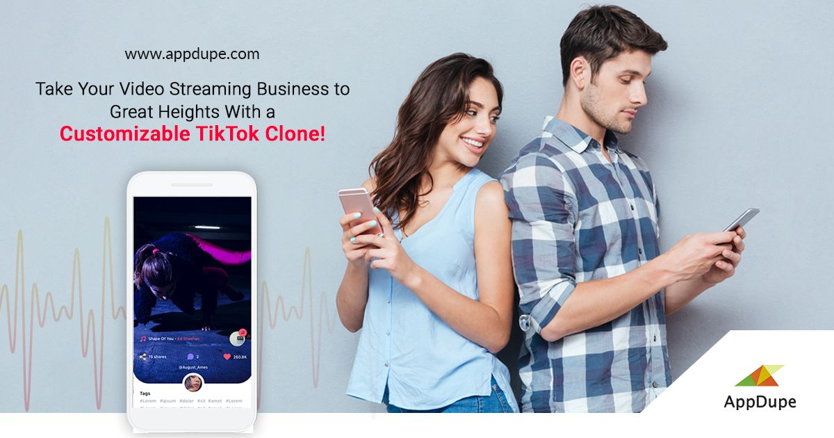 Take Your Video Streaming Business To Great Heights With A Customizable Tiktok Clone Video Streaming Streaming Live Video Streaming