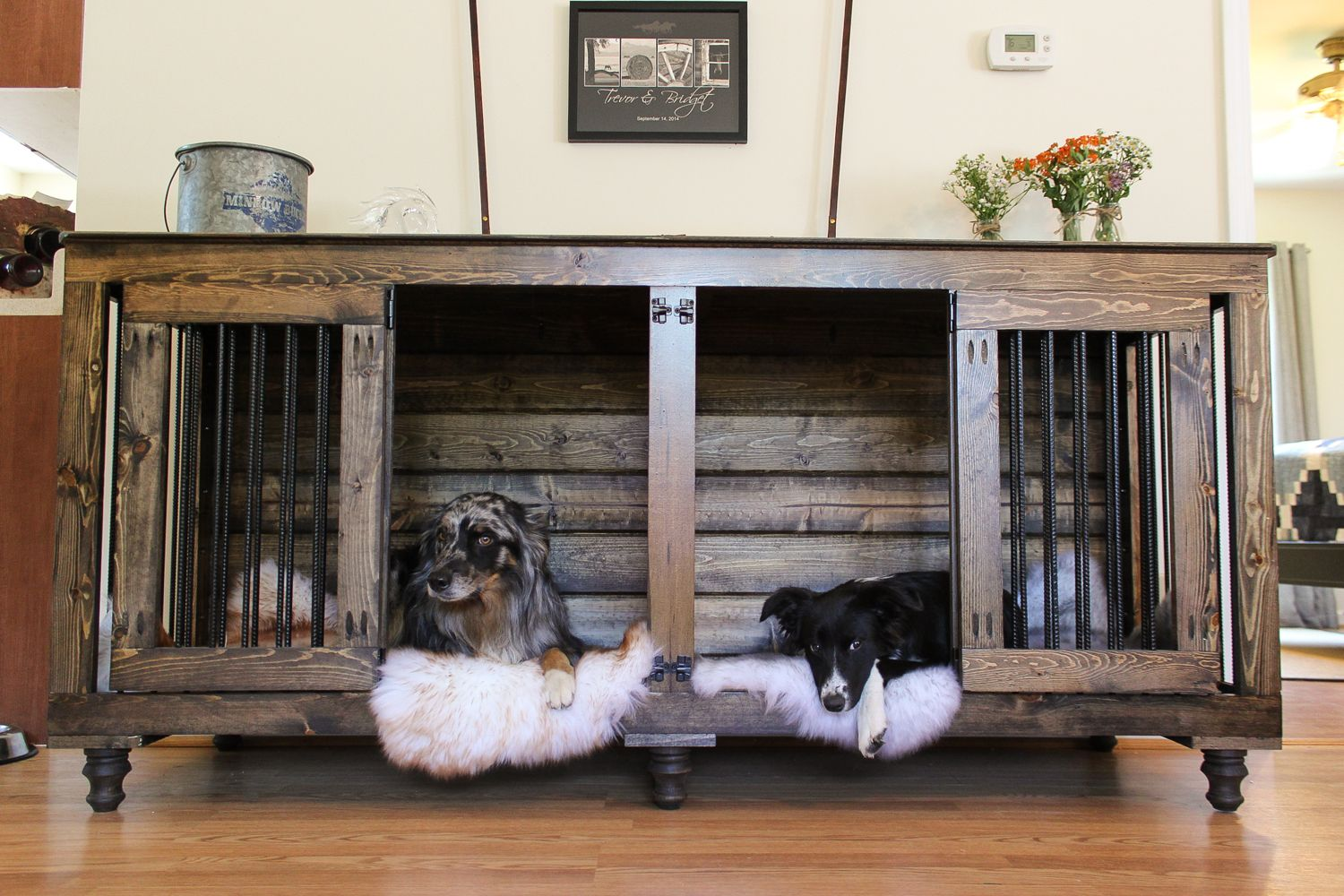 Double Doggie Den 174 Doggies Diy Dog Kennel Dog Crate