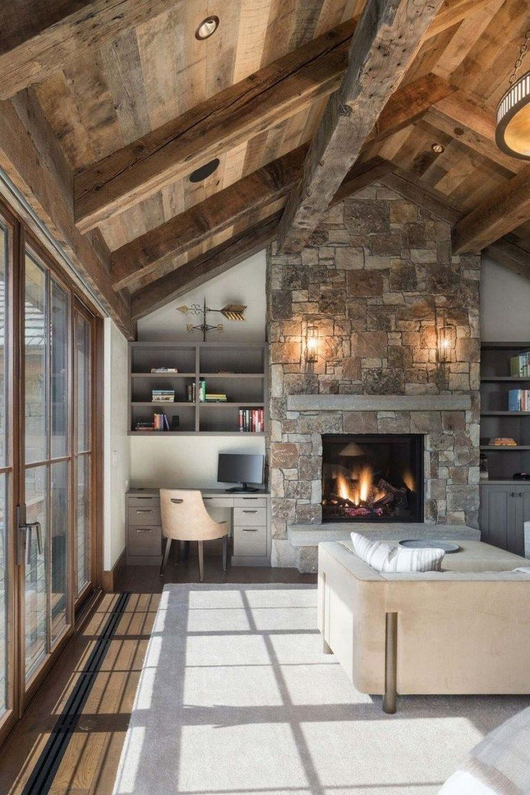 32 Amazing Modern Rustic Living Room Design For Your Family 16 Fieltro Net Rustic Living Room Design Rustic Home Design Modern Rustic Living Room