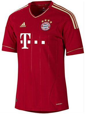 FC Bayern Munich Jersey 2011 2012 - 2012 2013  dca818a199da5