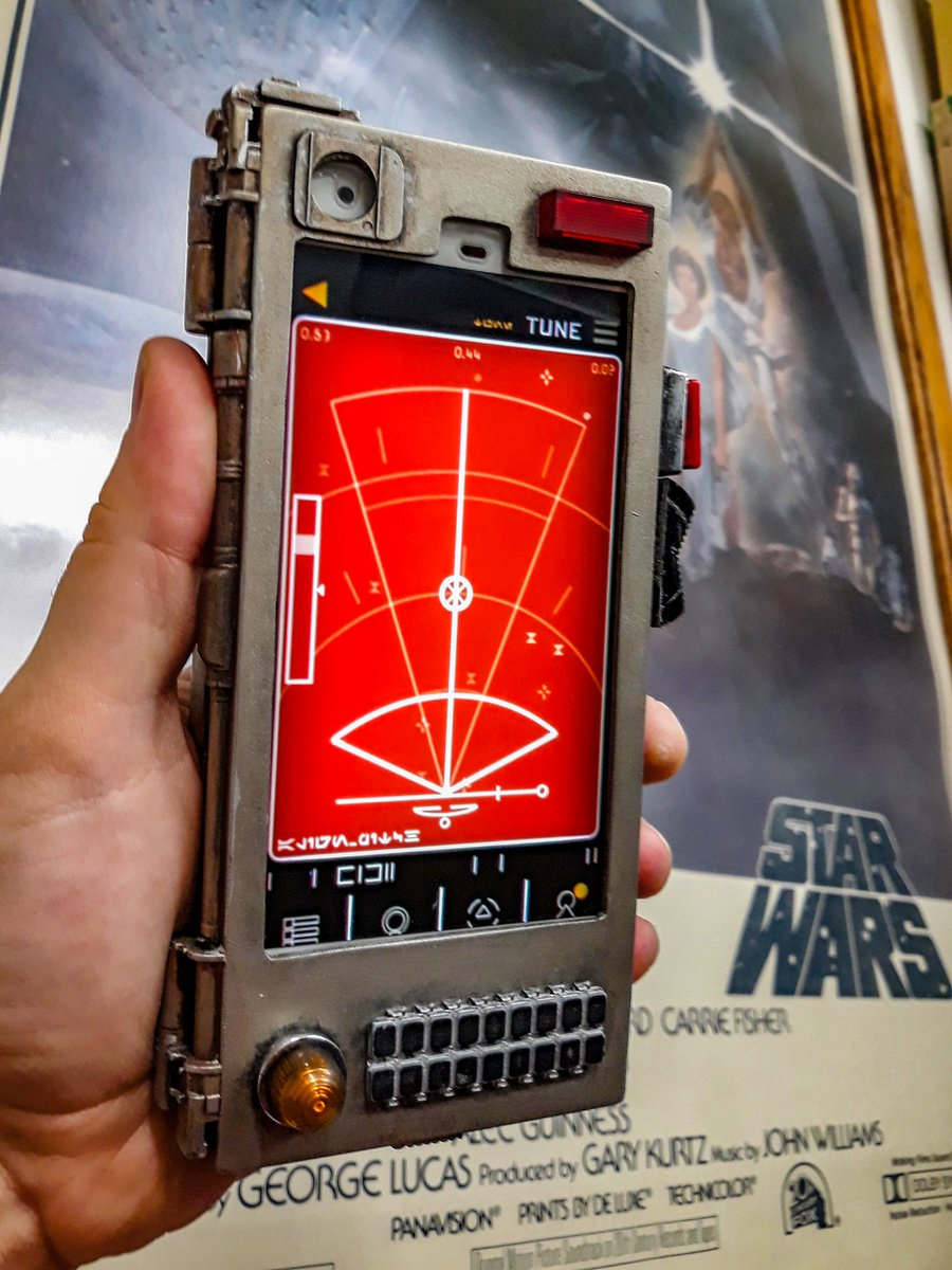 Kitbashing Phone Cases for Galaxy's Edge Star wars