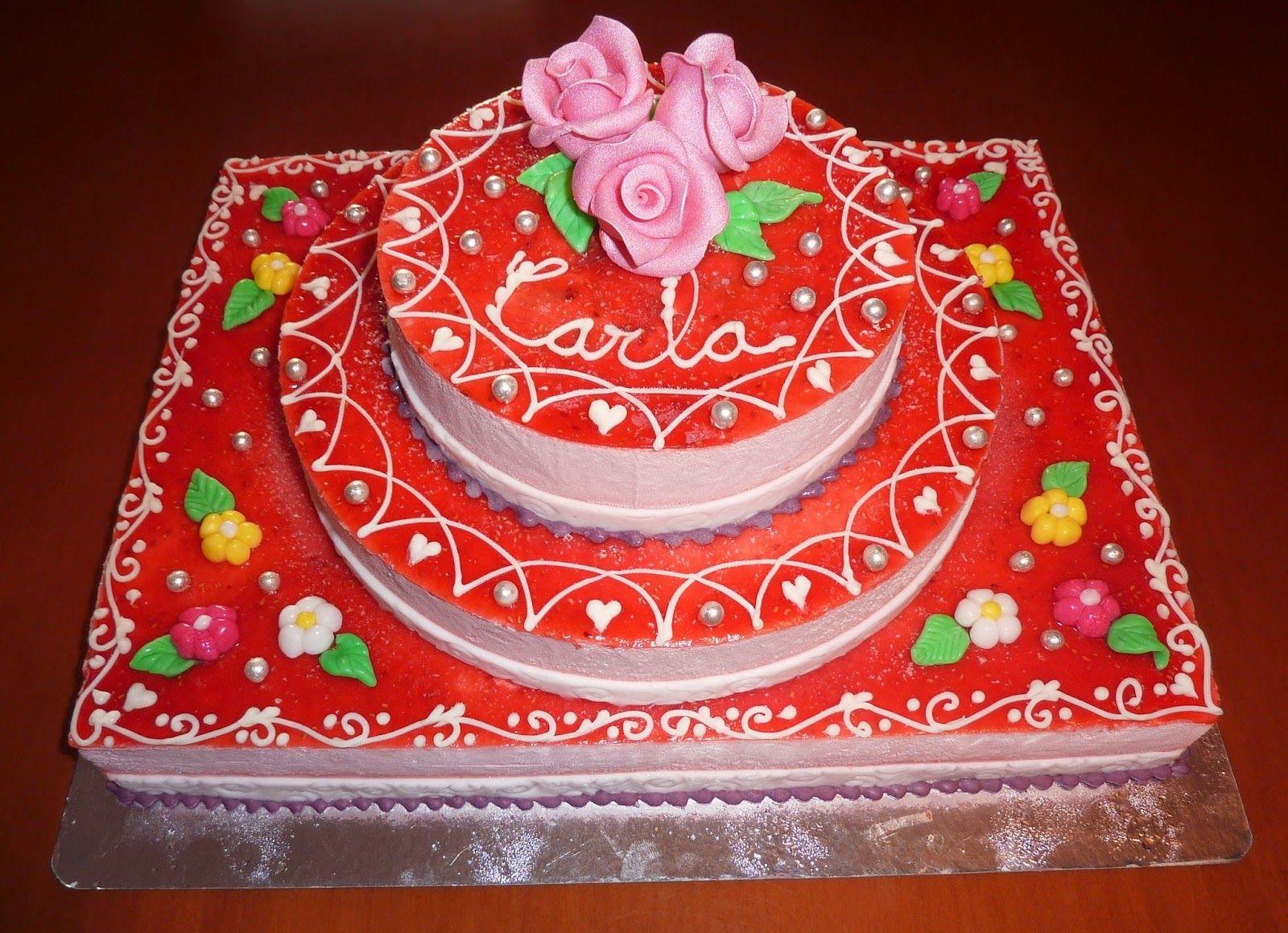 Crear para Endulzar: Pastel de Comunión (Carla) Communion Cake