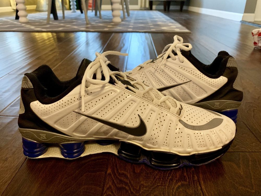 huge sale 3e8c0 d2eaa Mens Nike Shox TLX Running Shoes 13 White  fashion  clothing  shoes   accessories  mensshoes  athleticshoes (ebay link)