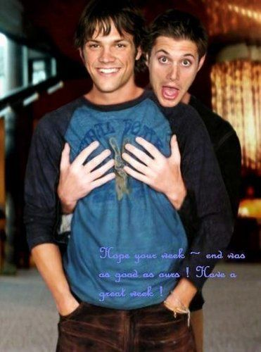 Jared & Jensen - jared-padalecki-and-jensen-ackles Photo