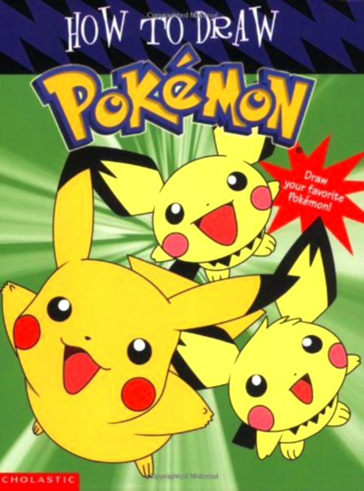 Pokemon Coloring Book Stories For Kids Drawing How To Draw