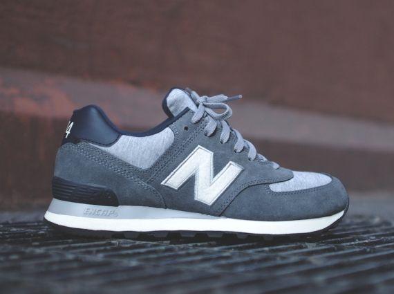 new balance 574 navy grey