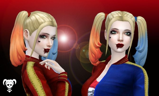 harley quinn hair at my stuff sims 4 updates sims4 stuff