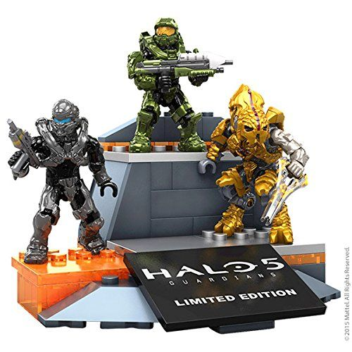 Amazon com: SDCC 2015 Exclusive Halo 5 Mega Bloks 3 Figure