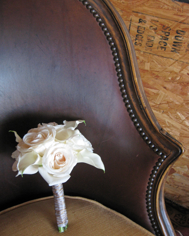 Modern Calla Lily Wedding Calla Lily Wedding White Rose Bouquet