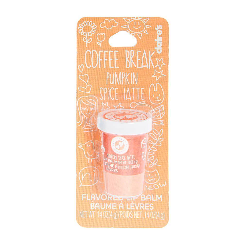 Pumpkin Spice Latte Flavored Coffee Break Lip Balm | Claire's