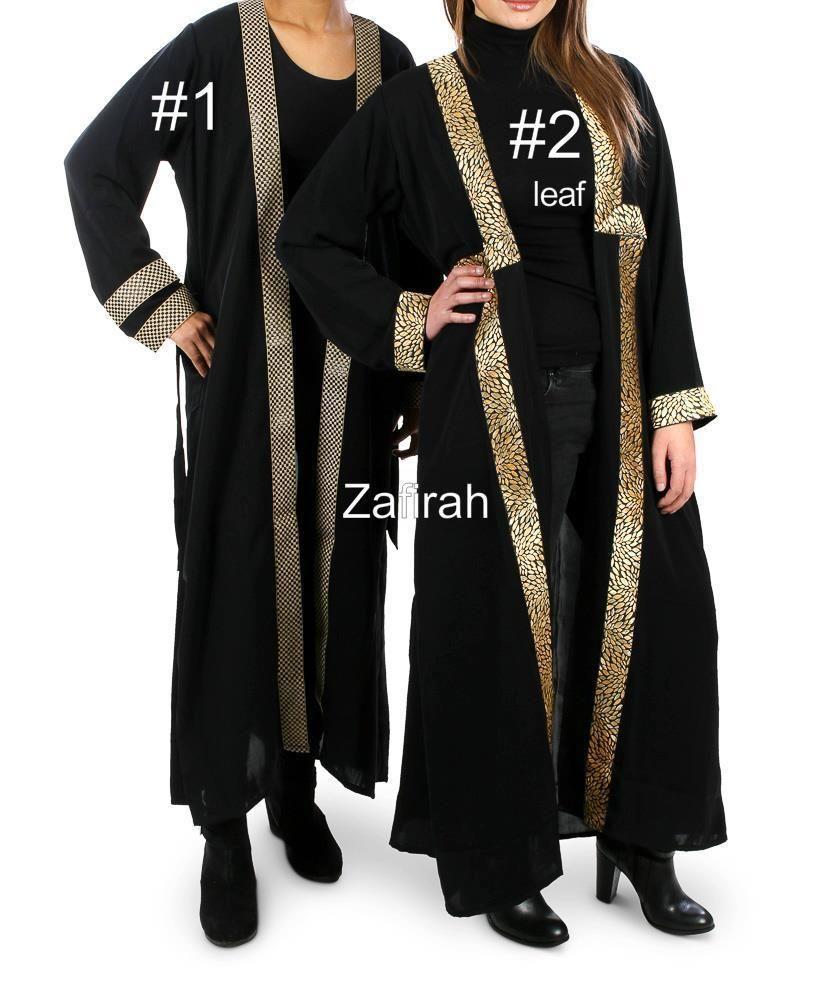 Dubai Cardigan top Maxi Open Abaya Jilbab farasha Burkha Jubah ...