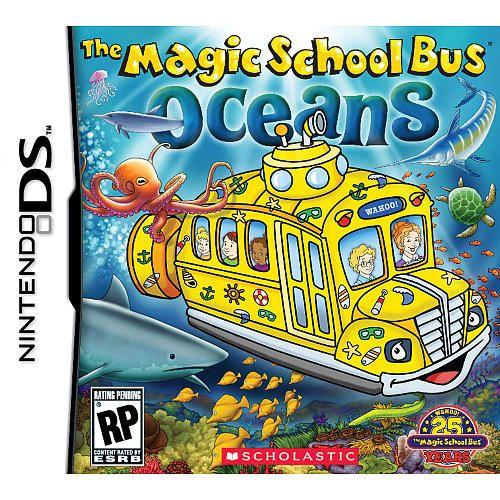 The Magic School Bus Oceans For Nintendo Ds Scholastic Toys R