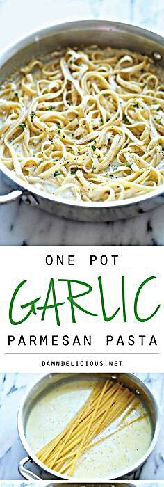 The easiest and creamiest pasta made in a single pot – even the pasta gets cooked right in the pan!...