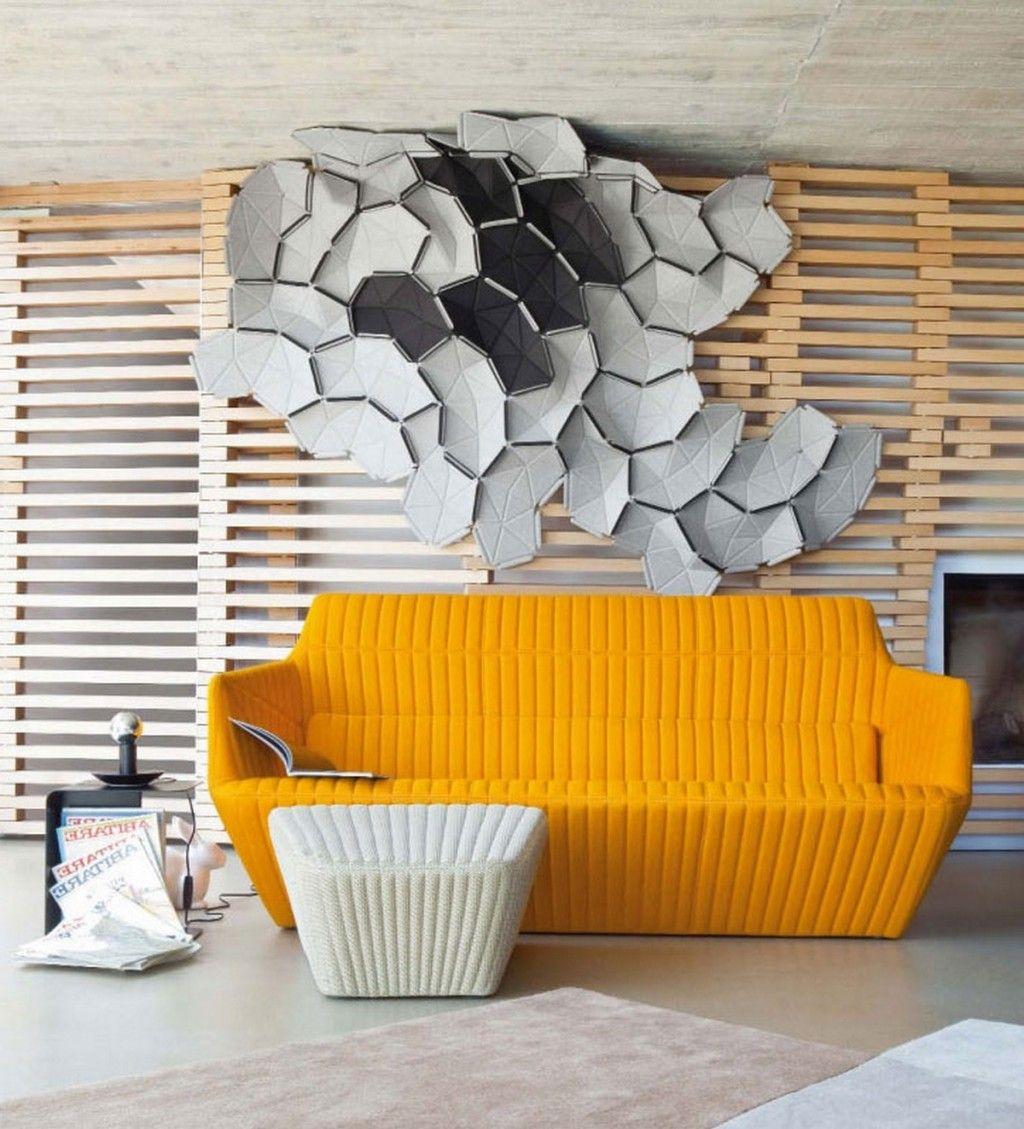 18 Unique And Unusual Interior Wall Art Ideas : Contemporary Unusual ...