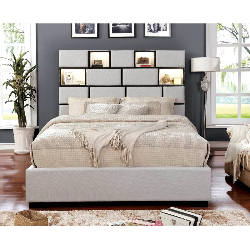 Widener Upholstered Storage Platform Bed in 2020